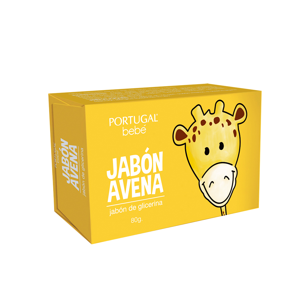 Jabón de Glicerina Avena para Bebés x 80g
