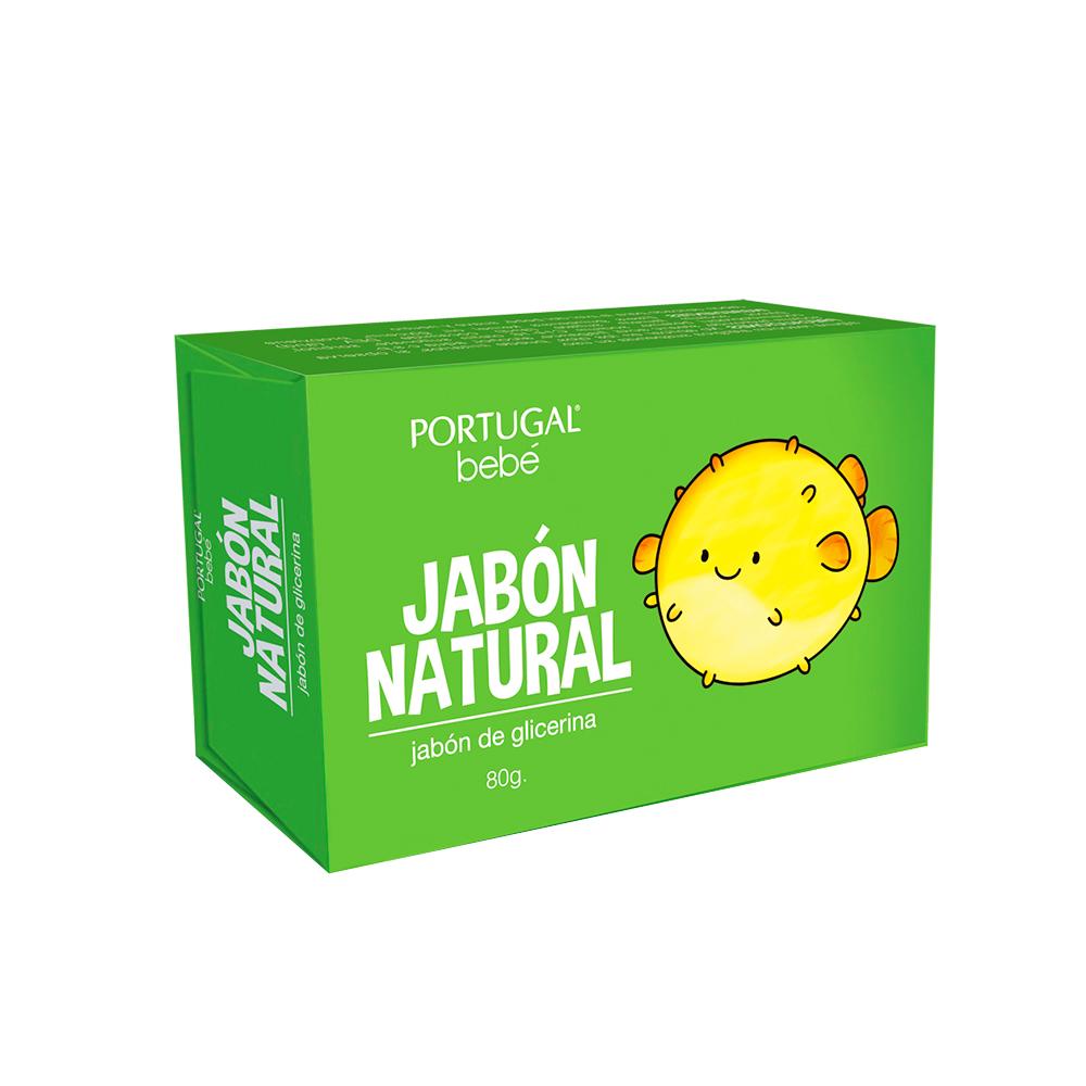 Jabón de Glicerina Natural para Bebésx 80g Portugal Bebé