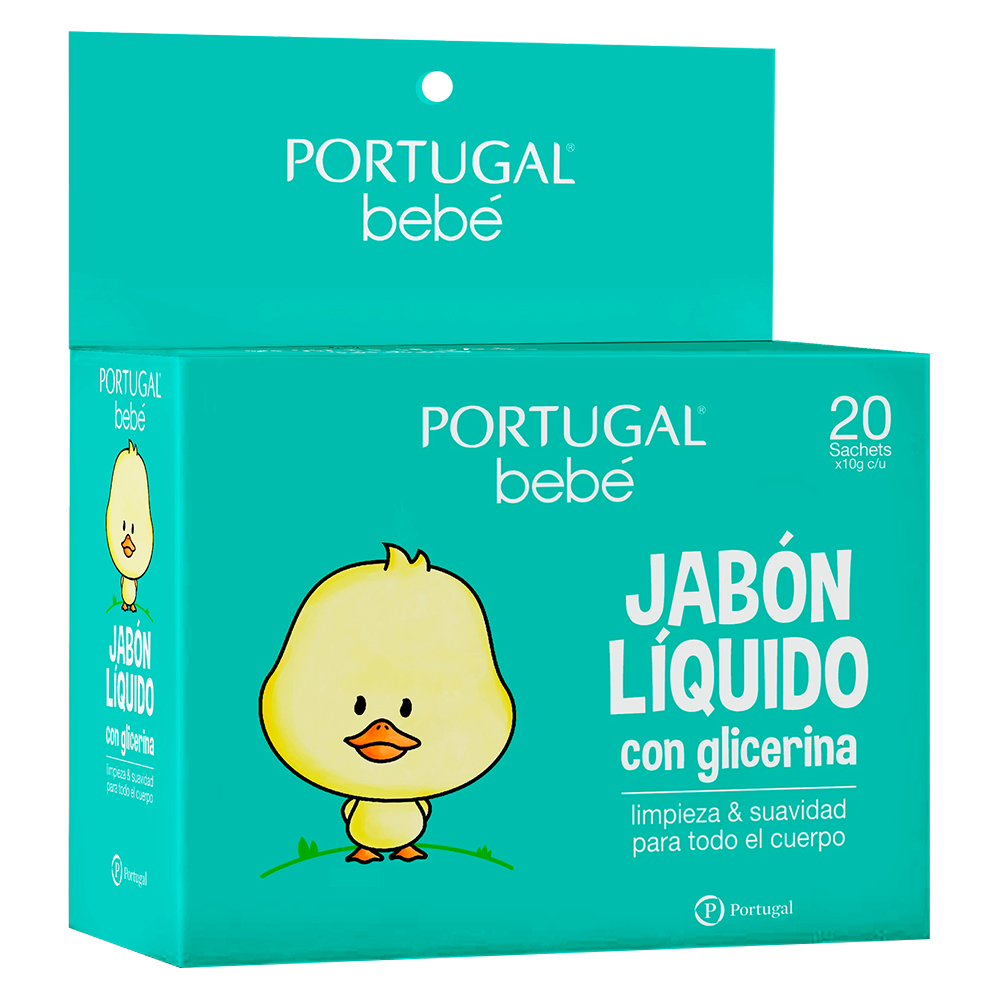 Jabón Líquido para Bebés  - 20 sachets de 10g