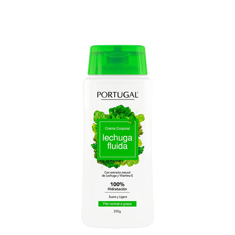 Crema Lechuga Fluida SPF25 x 250ml Portugal Cosmetics