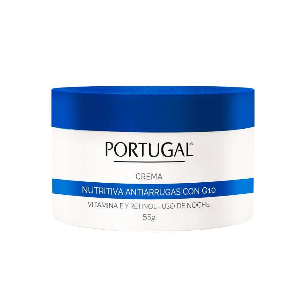 Crema Nutritiva Antiarrugas Q10 x 55g Portugal Cosmetics