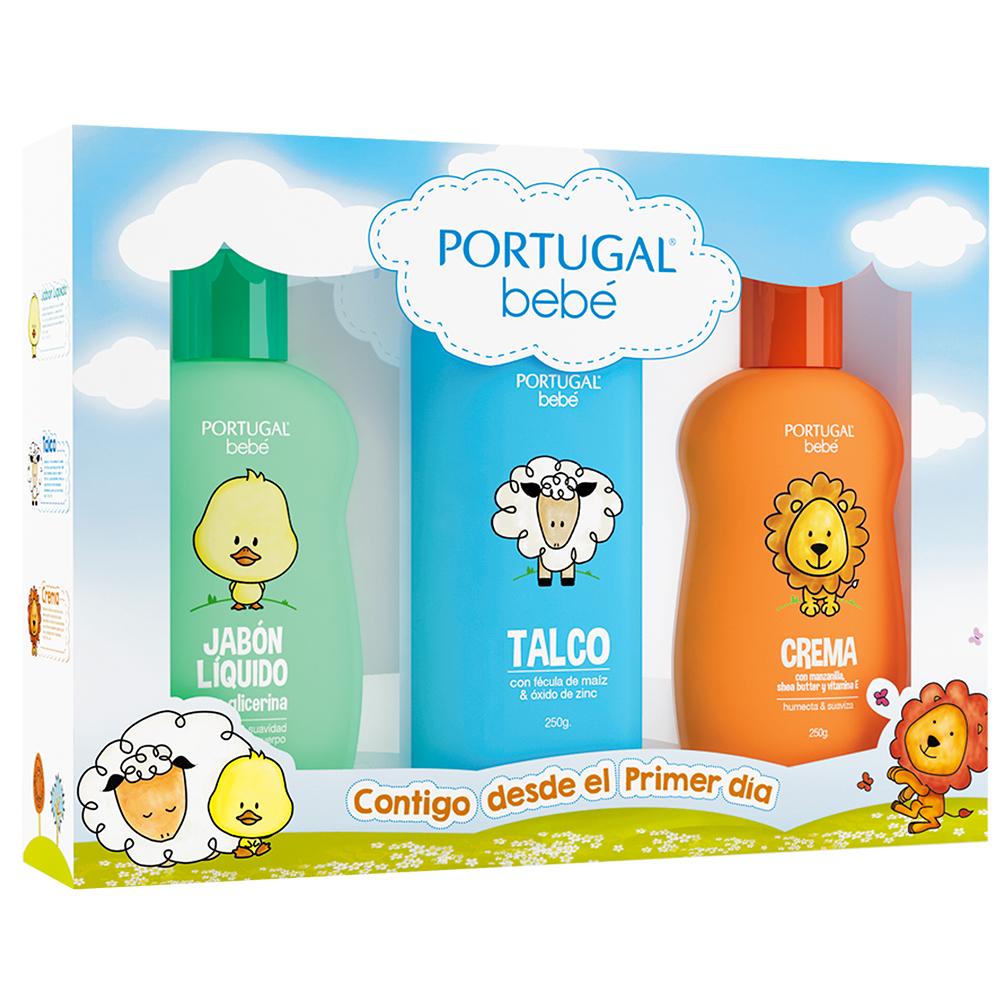 Pack Bebé 4, Talco x 250g, Crema x 250g, Jabón Líquido x 250ml