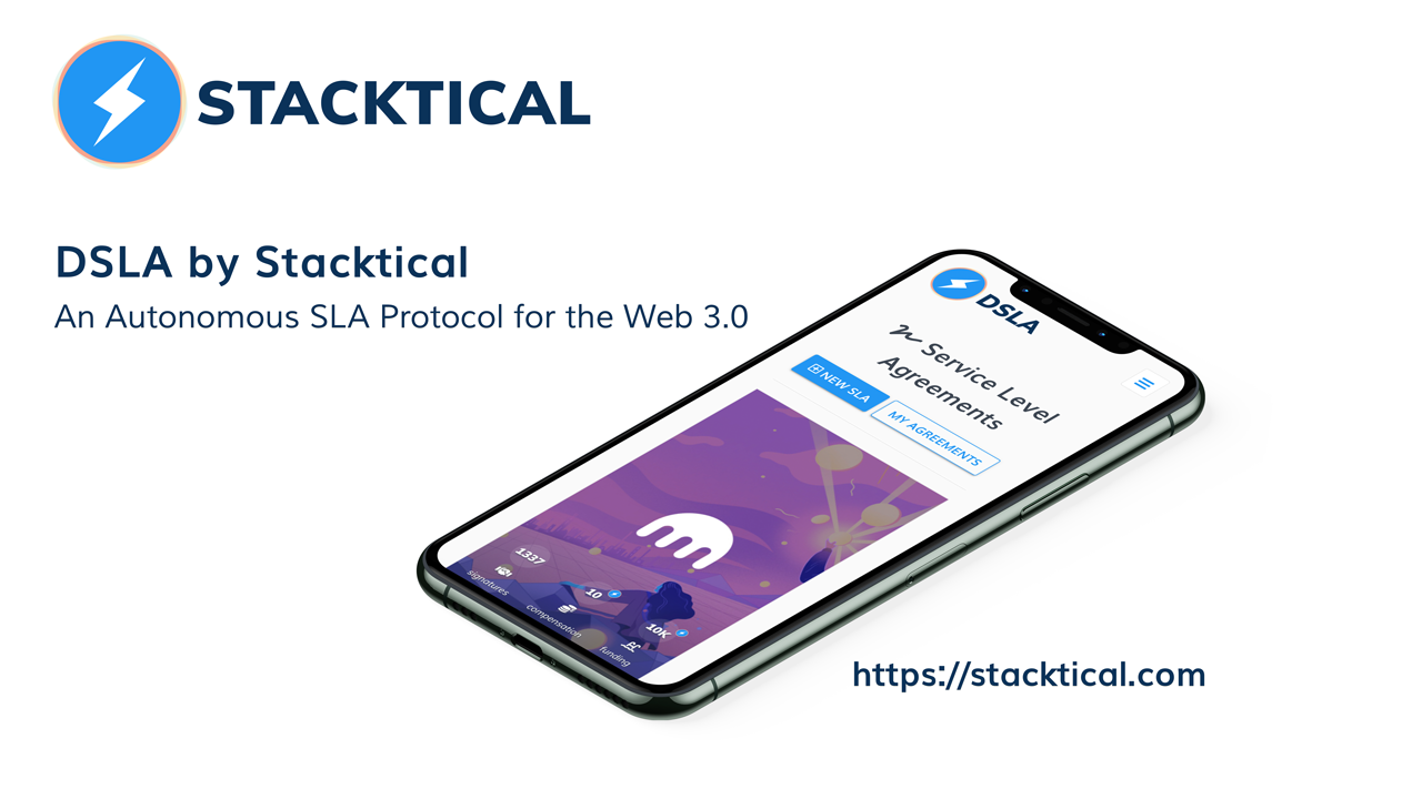 DSLA by Stacktical: An Autonomous SLA Protocol for the Web 3.0