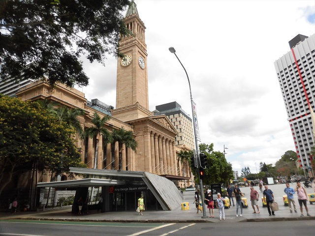Queen Street, Brisbane on a muggy November Friday afternoon