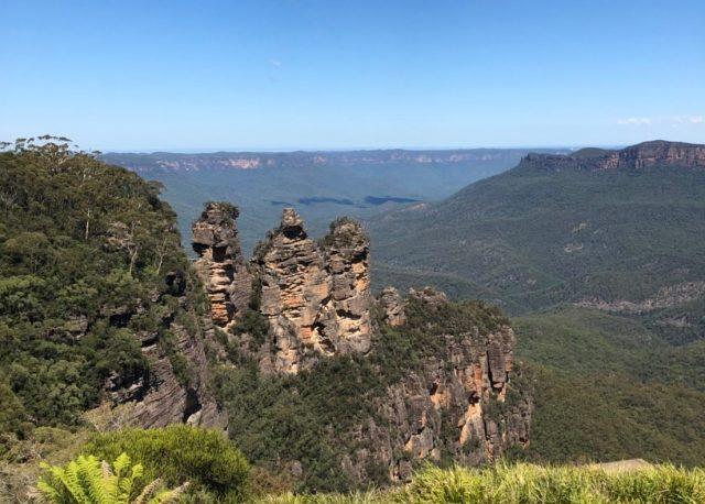 山の上からの景色