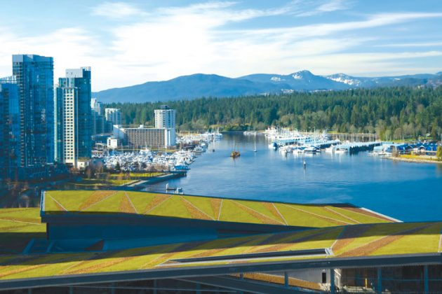 The Vancouver Convention Centre - Vancouver's Green Buildings and Construction | Green Building Design Vancouver