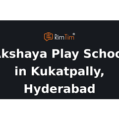Akshaya Play School, Mythri Nagar
