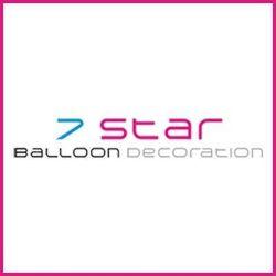 7 Star Balloon Decorations