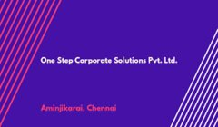 One Step Corporate Solutions Pvt. Ltd.