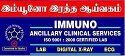 Immuno Ancillary Clinical Services