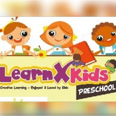 Learnx Kids Preschool Baner
