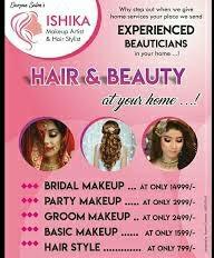 Ishika Makeup Artist And Hair Stylist