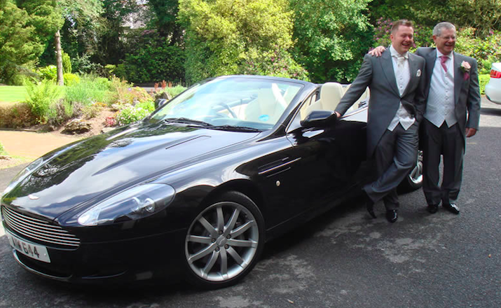 Aston Martin Hire For Weddings An Elegant Touch For The Biggest Day Of Your Life Starr Luxury Car Hire Uk The Uk S Leading Luxury Car Hire Company