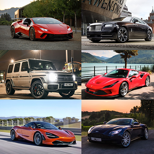 Starr Luxury Cars The Uk S Leading Luxury Car Hire Specialist
