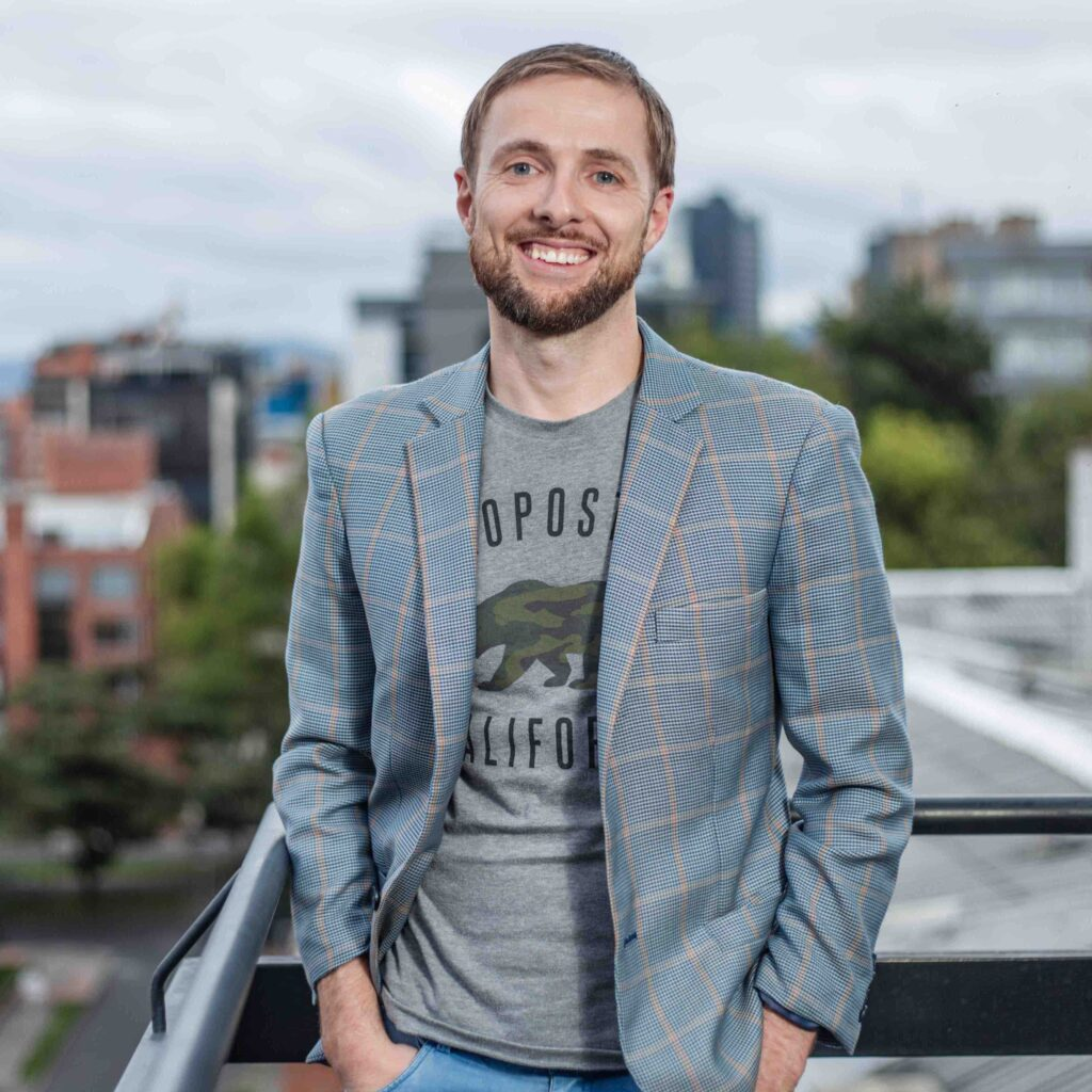 Craig Dempsey, CEO de The StartupVC, unos de los creadores de empresas en Colombia
