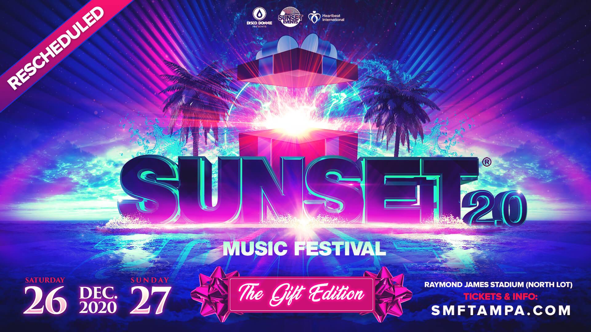 sunset music festival 2020 the gift