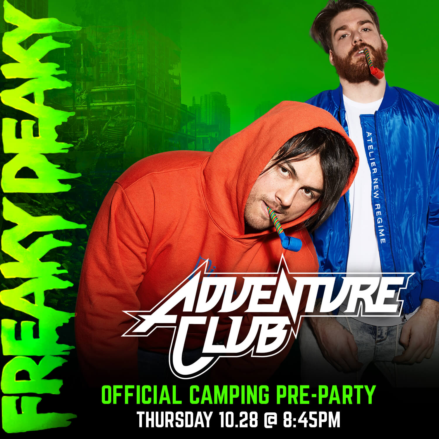 freaky deaky 2021 camping pre-party