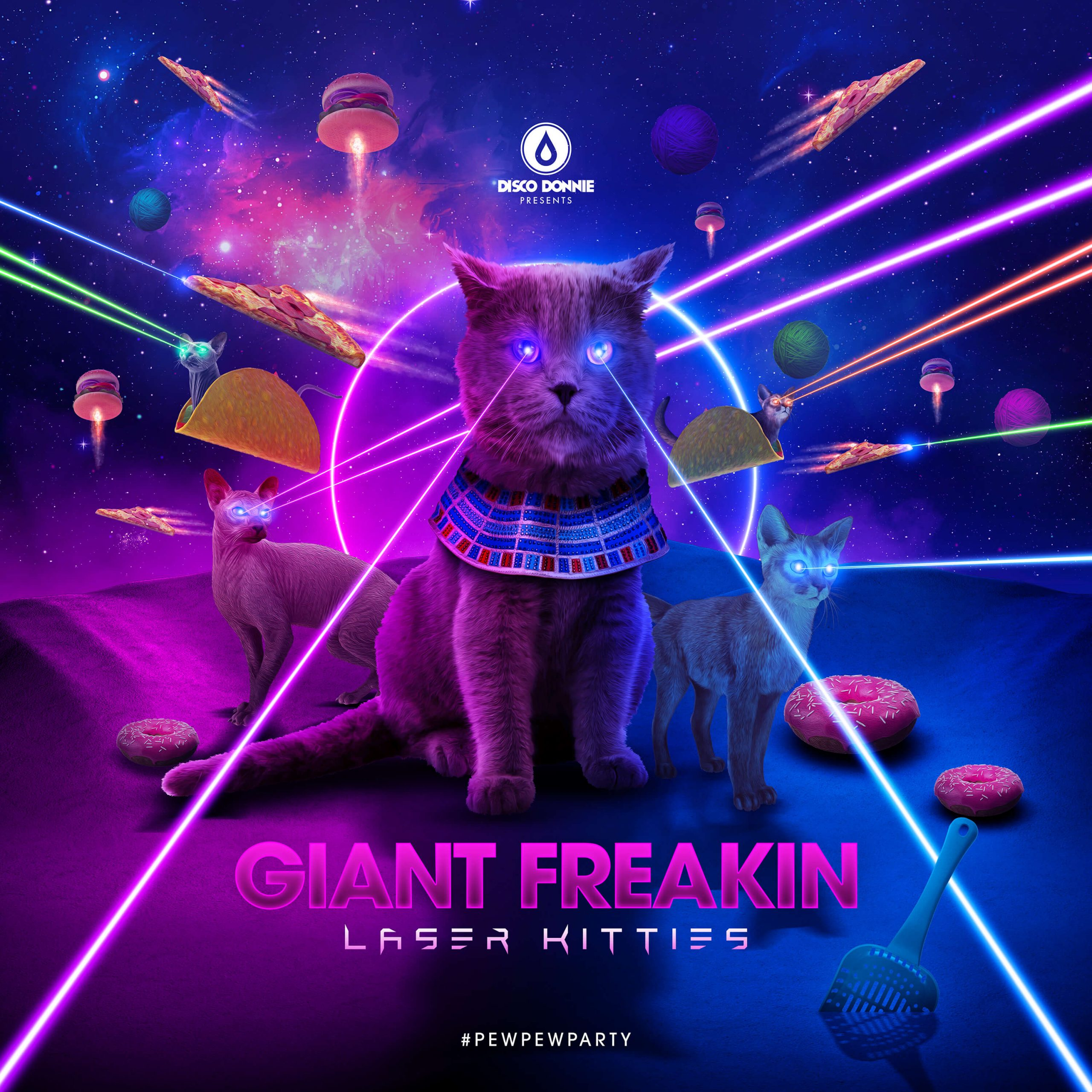 Giant Freakin Laser Kitties
