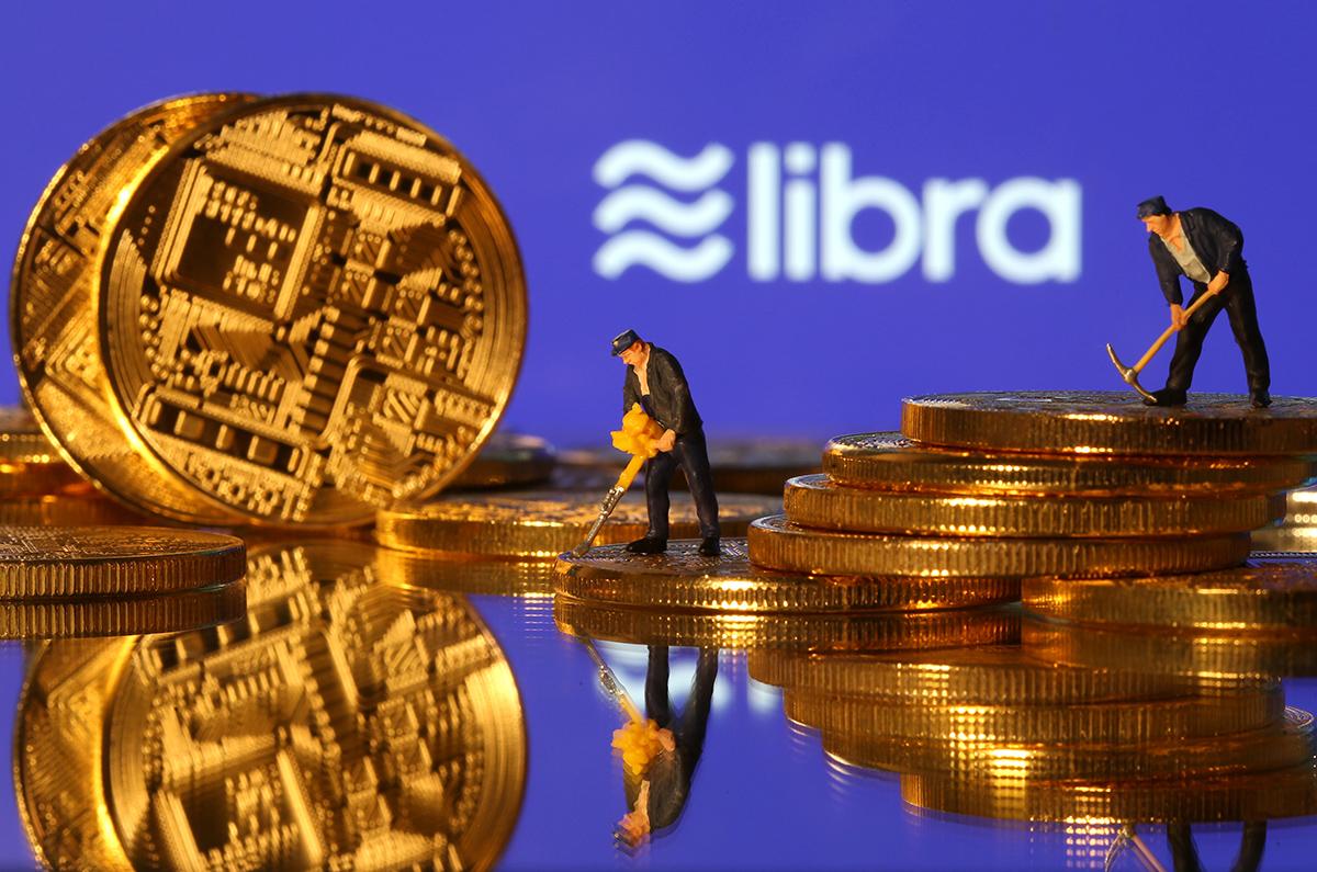 圖/Facebook 新貨幣 Libra 面臨各國金融監管與隱私權的挑戰。(REUTERS / Dado Ruvic / 達志影像)