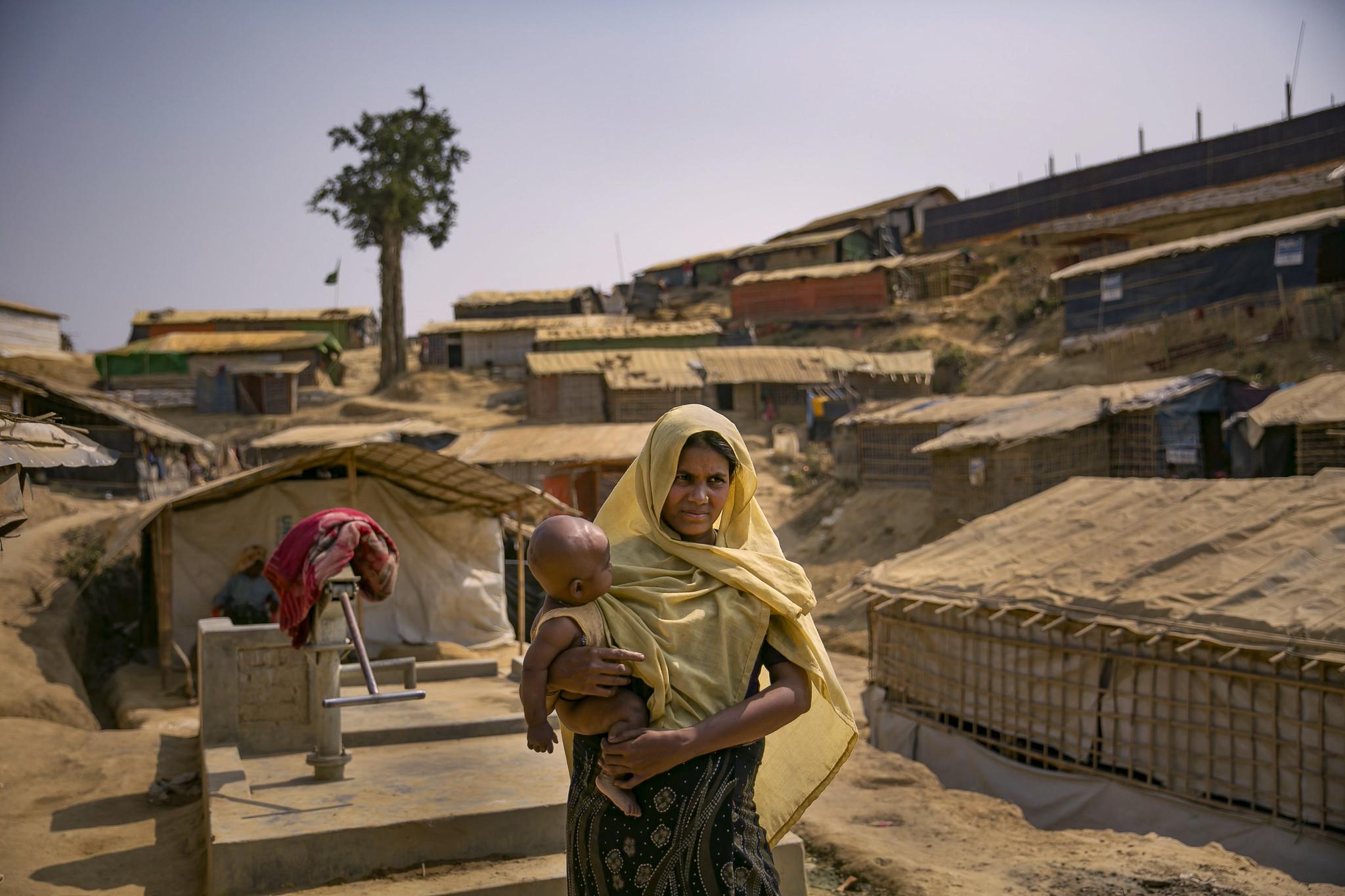 在孟加拉的洛興雅難民營。(圖/UN Women / Allison Joyce)(CC BY-NC-ND 2.0)