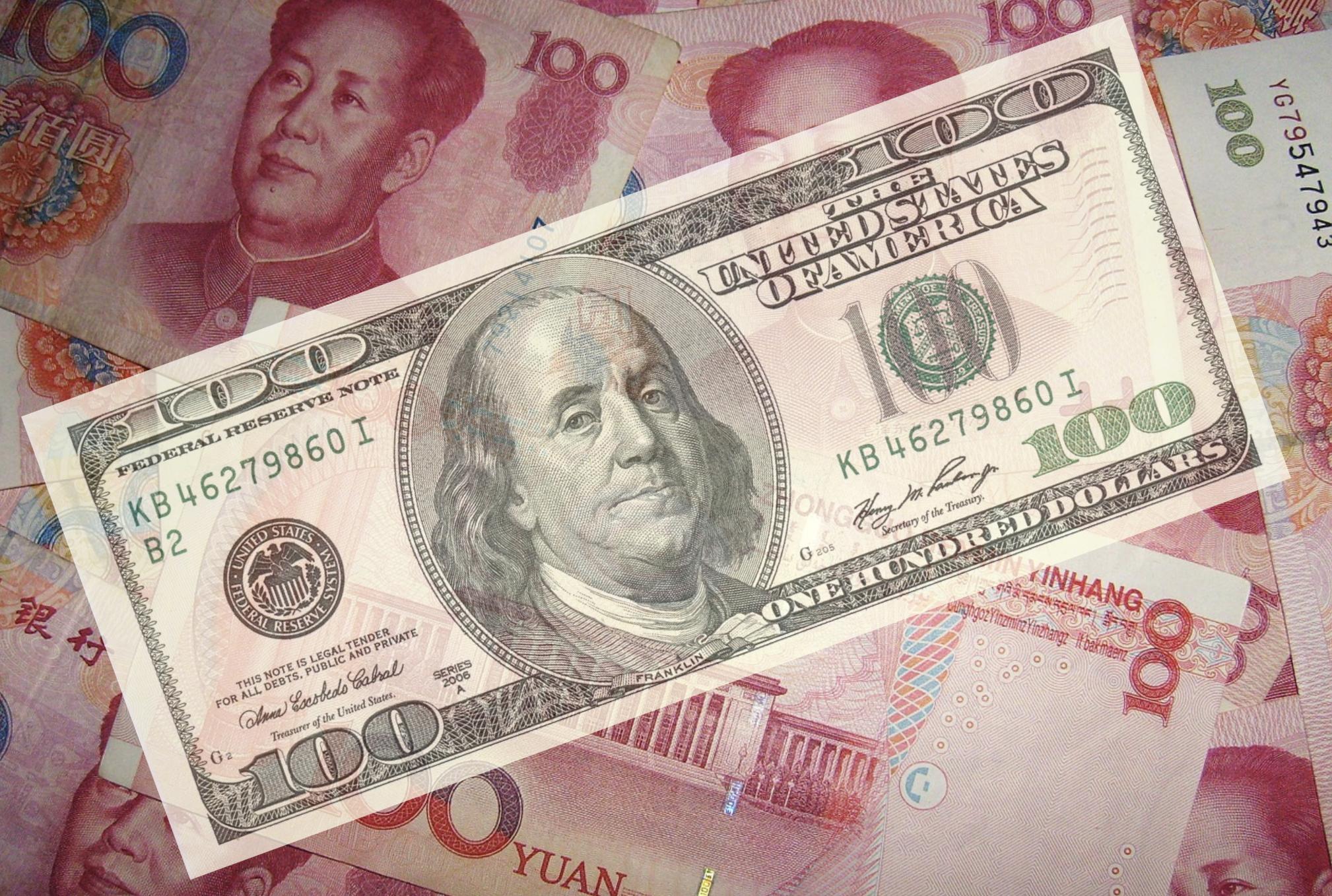 美中貿易戰失控,中國被列為匯率操縱國(圖/人民幣:PublicDomainPictures from Pixabay。美金/US)