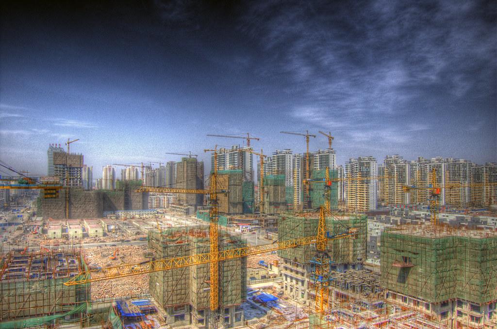 中國一處大型建案(圖/Jakob Montrasio/CC BY 2.)