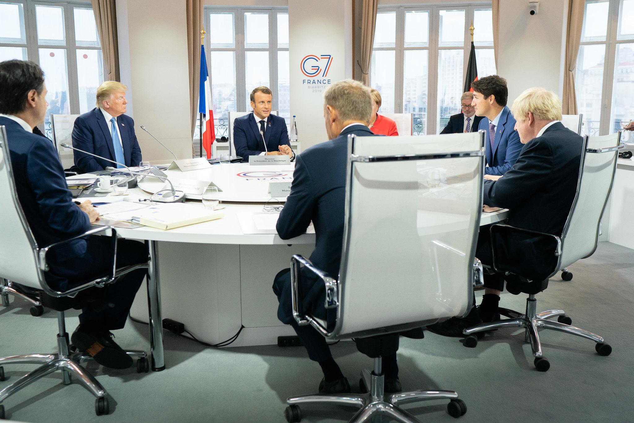 G7促遵守中英聯合聲明承諾 中國:任何國家無權干涉(圖/美國白宮 Flickr/公共領域)