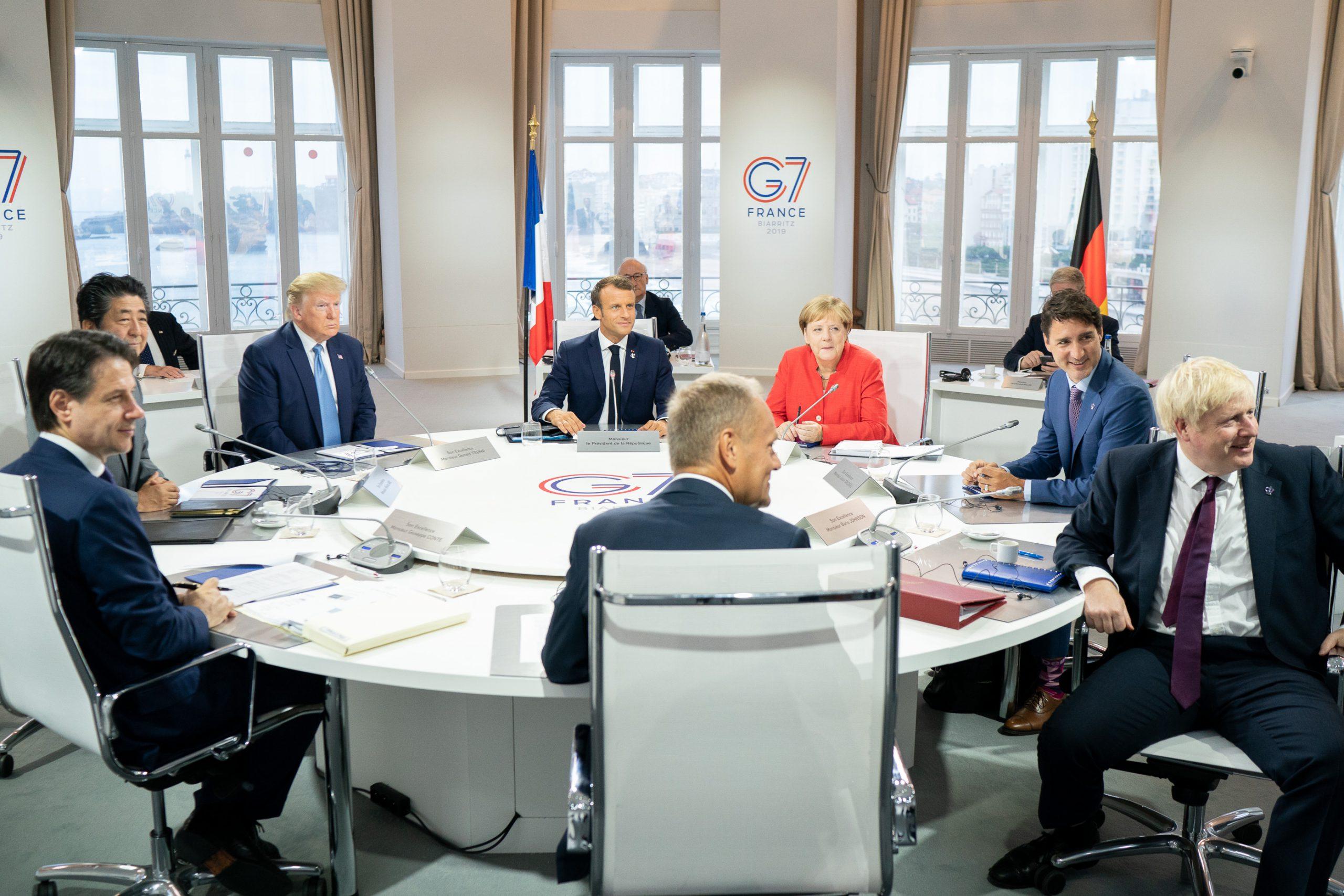 籠罩在全球緊張局勢中的 G7 峰會(圖/美國白宮 Flickr/公共領域)