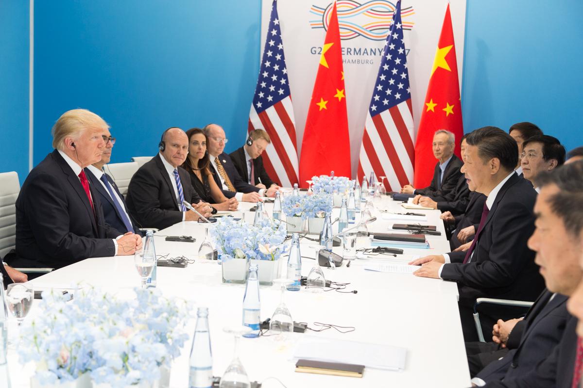 美將延後至12/15,對中國電子產品加徵關稅(圖/The White House/美國總統行政辦公室)