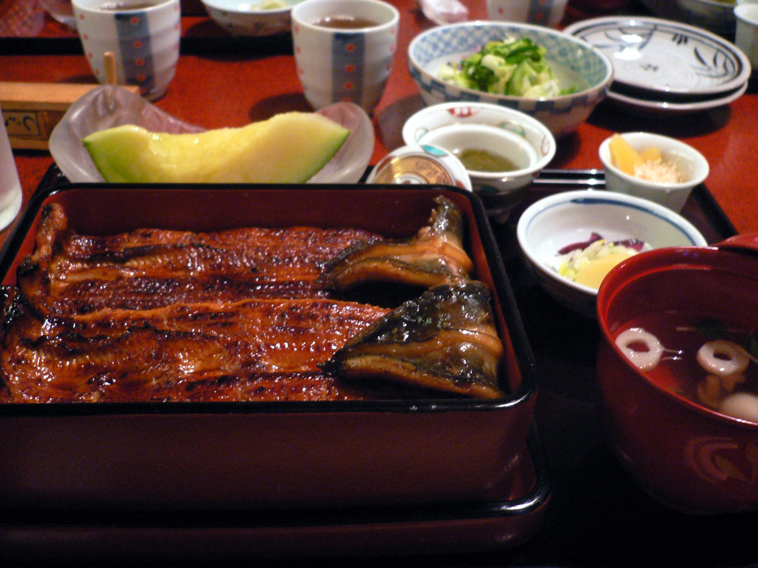 圖╱鰻魚苗價格飆升,鰻魚飯離日本餐桌越來越遠(圖/Syohei Arai/GFDL)