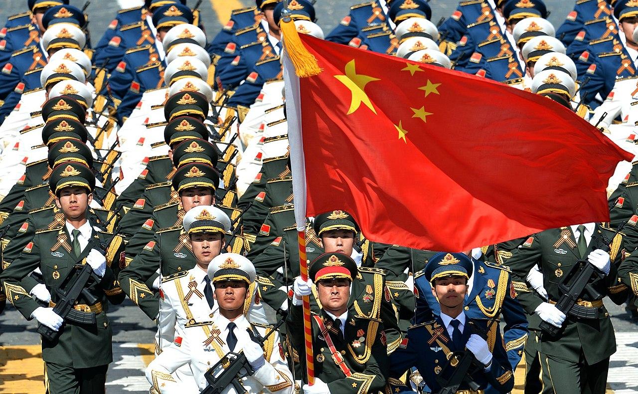 中國建政周年閱兵(圖/Presidential Press and Information Office/CC BY 4.0)