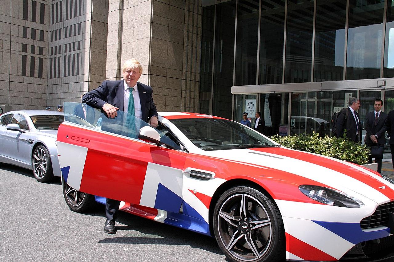 首相強生(Boris Johnson)會把車開到哪?開多遠?(圖/UK in Japan- FCO/CC BY 2.0)