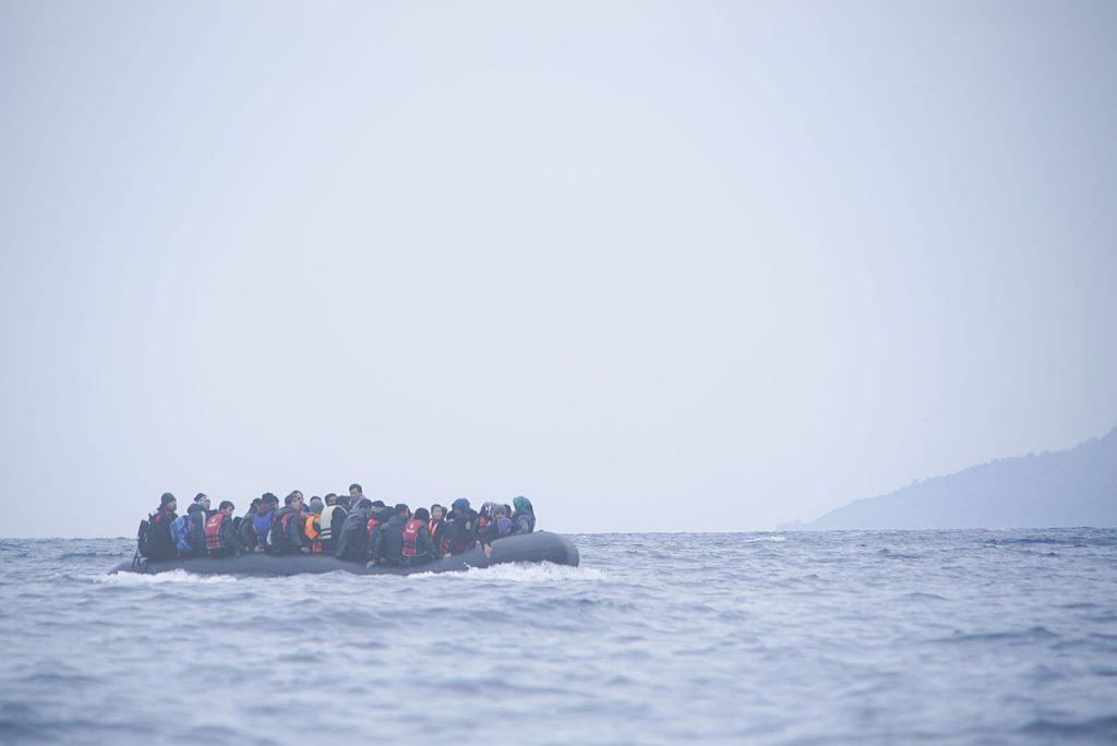 西班牙從地中海救援將近200位難民(圖/Mstyslav Chernov/Unframe/CC BY-SA 4.0)