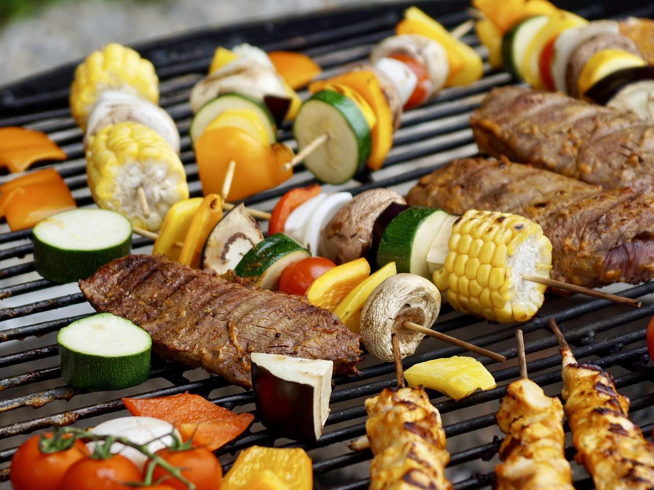 烤肉(圖/pixabay)