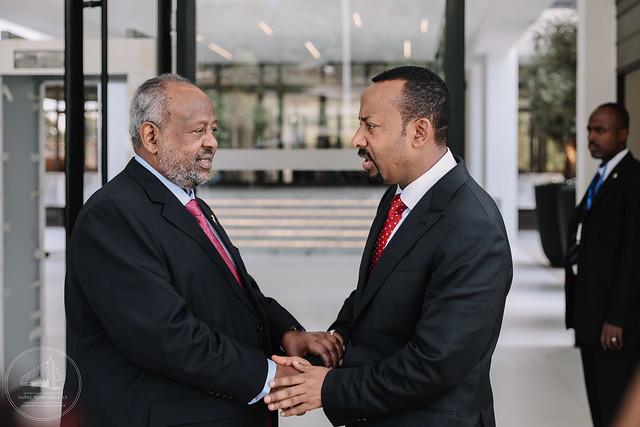 圖右者為衣索比亞總理哈邁德(圖/Odaw/CC BY 4.0)