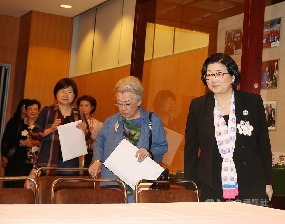婦聯會舉行會員代表大會,宣布決定不轉型成為政黨(圖/中央社.郭日曉)
