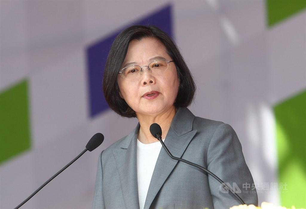 蔡總統發表演說鎖定三主軸 並拒一國兩制(圖/中央社.王騰毅)