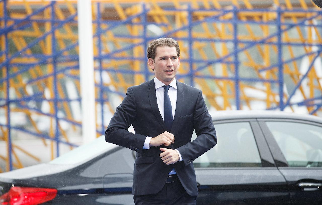 人民黨黨魁,同時也是前總理的庫爾茨(Sebastian Kurz)(圖/EU2017EE Estonian Presidency/CC BY 2.0)