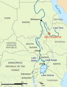 衣索比亞復興水壩(圖/Eric Gaba/CC BY 2.0)