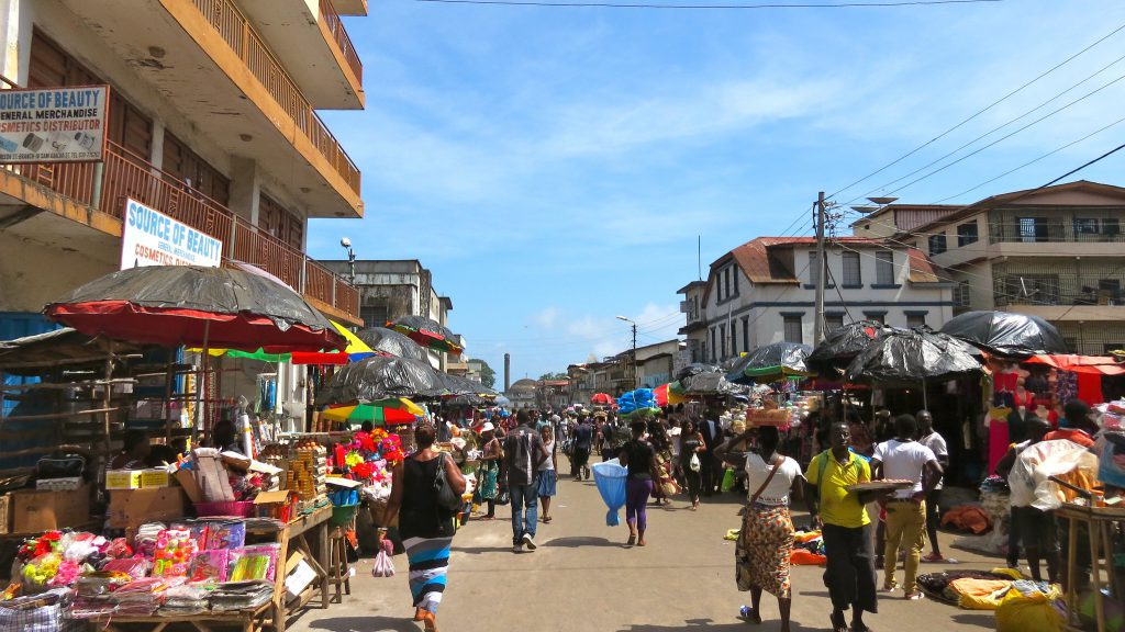 獅子山共和國首都自由城(Freetown)(圖/Erik Cleves Kristensen/CC BY 2.0)