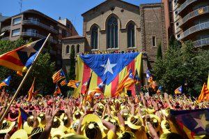 加泰隆尼亞獨立運動(圖/Josep Renalias Lohen11/CC BY 3.0)
