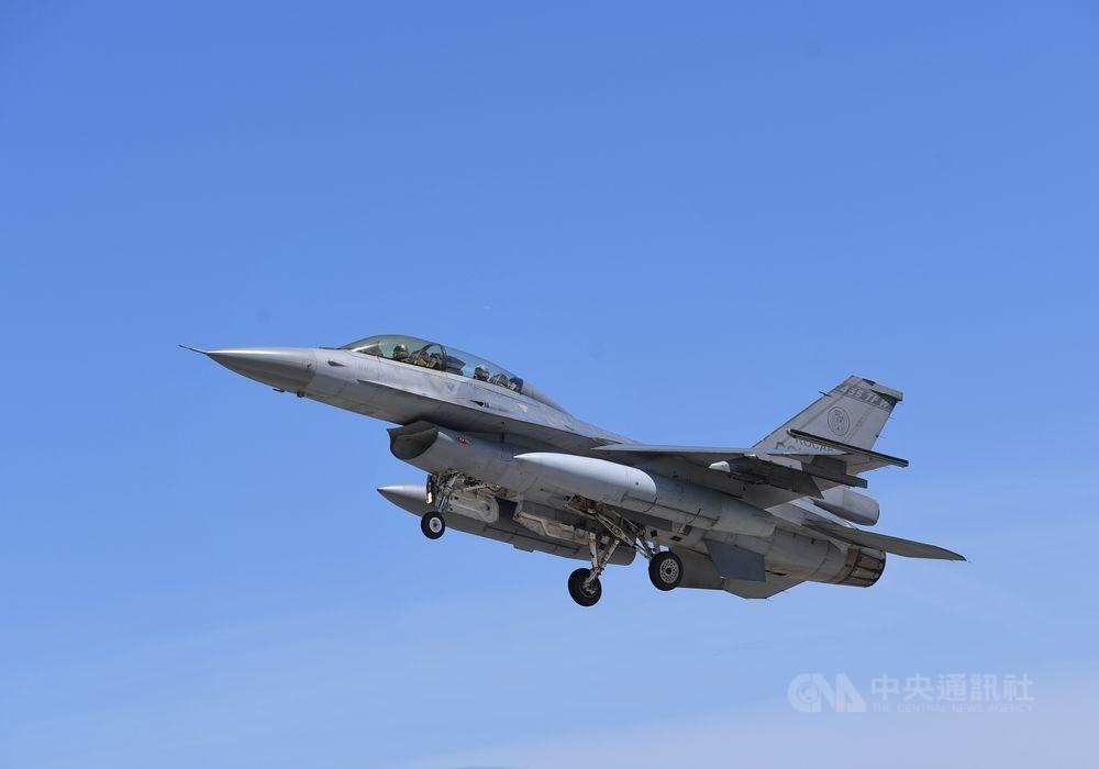美國國務院已批准銷售F-16給台灣,可望加強台灣的國防實力。(圖/中央社)