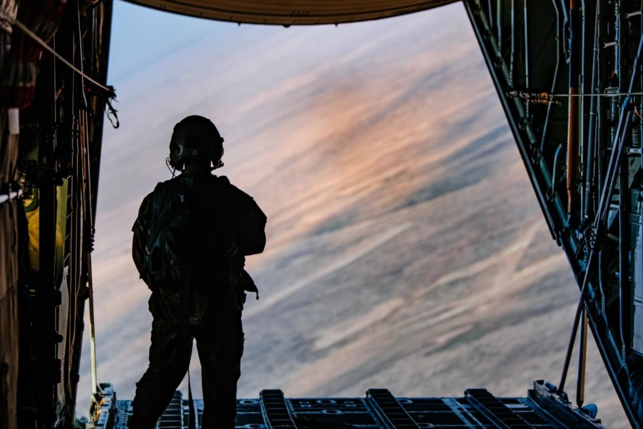 美國為了對抗伊斯蘭國在敘利亞駐軍(圖/美國國防部)