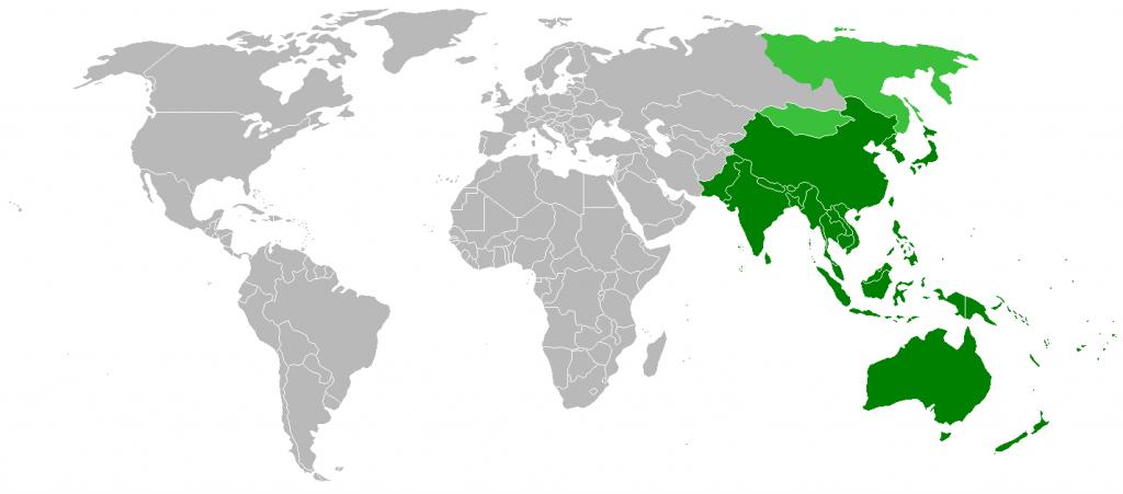 印太地區(圖/Vardion/CC BY-SA 4.0)