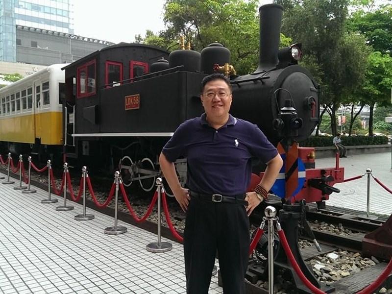 師大退休副教授施正屏傳在中國大陸失蹤。 (圖/中央社)