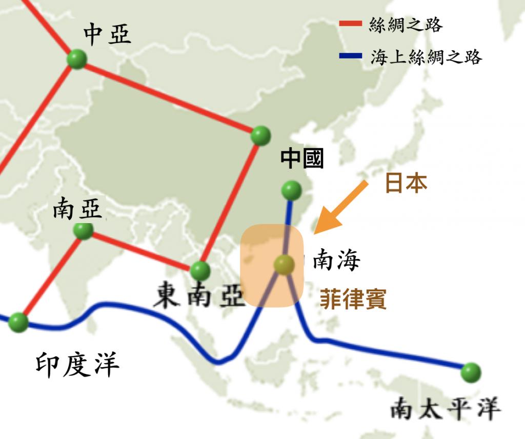 日本認為南海海域為日本海上生命線(圖/香港立法會)