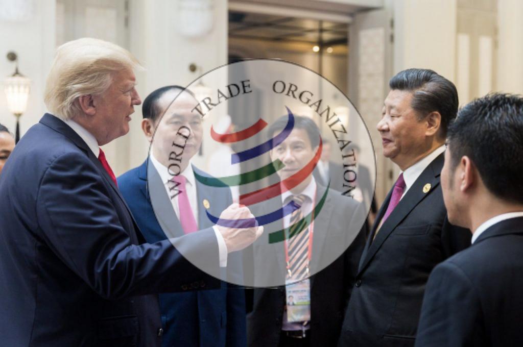 美中談判增加阻力?WTO裁定中國可對美國加徵關稅(圖/美國白宮、WTO:Samhitha Bhat/公共網域、CC BY-SA 4.0)