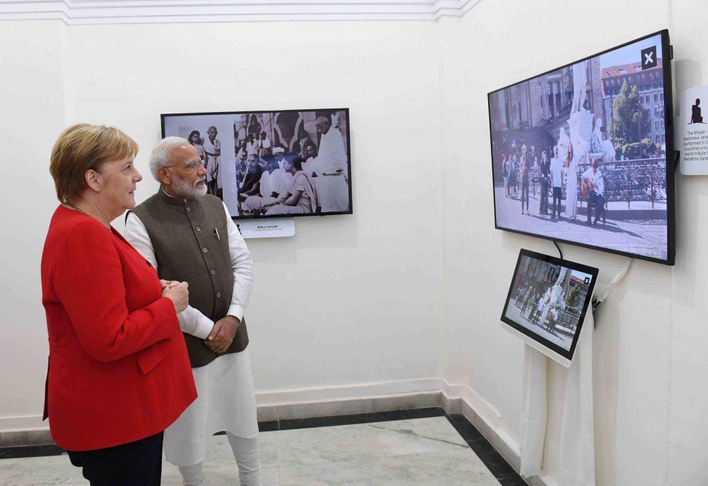 德國總理訪印,印度寄望能與有更進一步歐盟經貿合作(圖/PIB)