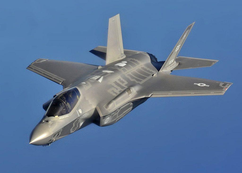 藍旗軍演於以色列登場,美國、義大利、以色列則出動最新的 F-35 型戰機(圖/U.S. Air Force photo by Master Sgt. Donald R. Allen/公共領域)