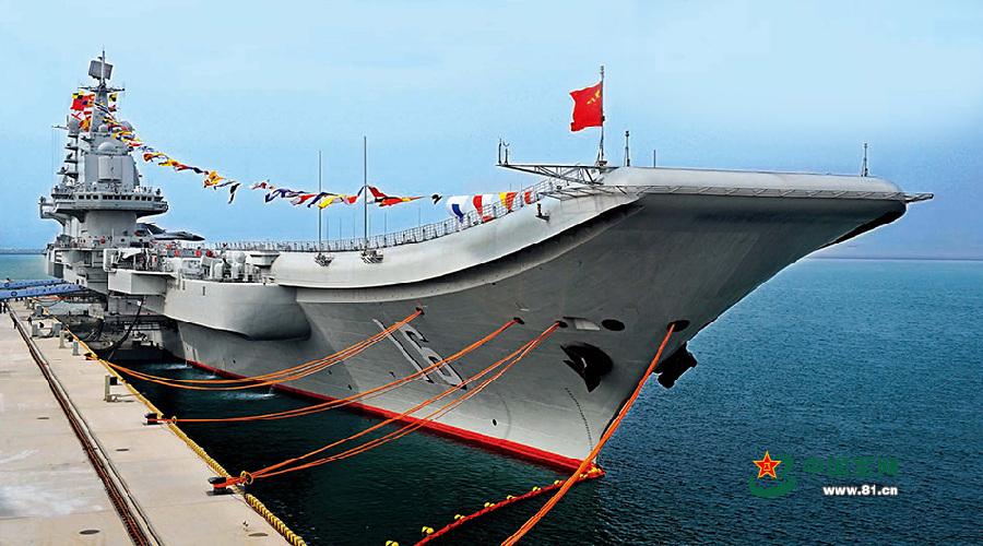 中國遼寧號(圖/中華人民共和國國防部)